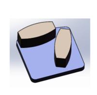 Diamond Grinding Shoes (Brazed) 1