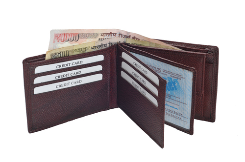 Gents Pdm Leather Wallet (X831)