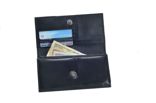Ladies Sheep Leather Wallet (X903)