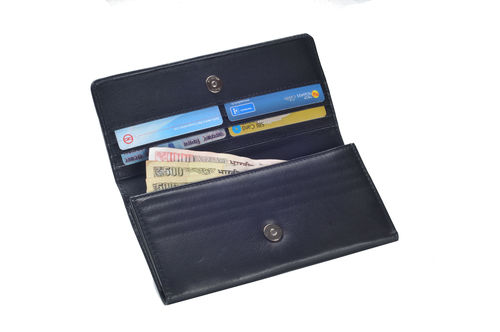 Ladies Dd Leather Wallet (X906)