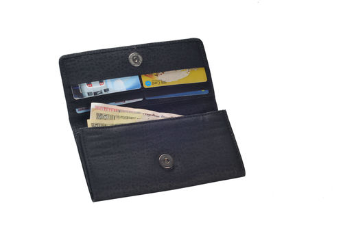 Ladies Plated Leather Wallet (X907)