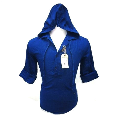 Mens Hooded Shirts