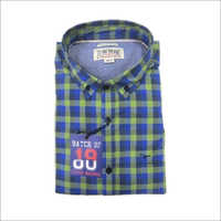 Mens Printed Cotton Shirt