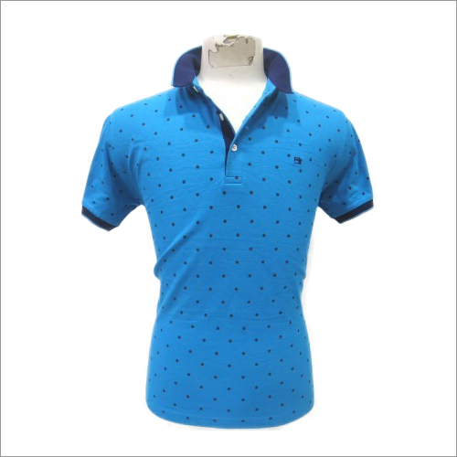 Mens Dotted T-Shirt