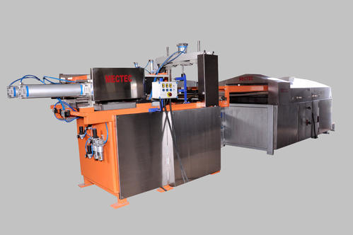 Fully Automatic Pneumatic Cooked Chapati Making Machine
