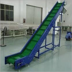 Modular Centre Cleated Belt Conveyors Material: Pvc
