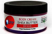 Shea Butter Rose Moisturizing Cream