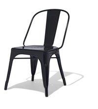 Tolix Chair in Matte Black