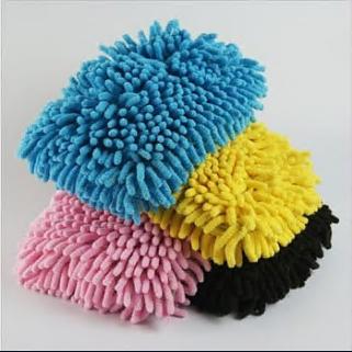 Reasonable price Chenille wash mitt