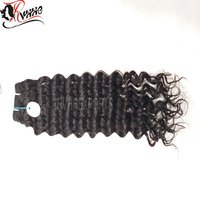 High Quality Grade 9 Peruvian Human Bundles Deep Curly Hair