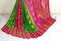 Moonga Soft silk saree