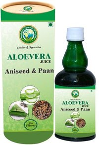 Aloe vera Juice with Aniseed Paan