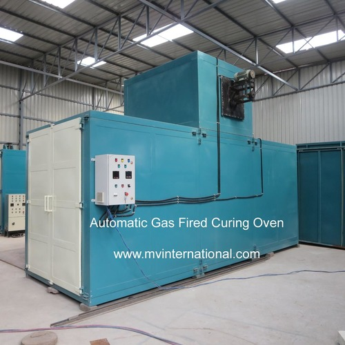 Brake Shoe Curing Oven