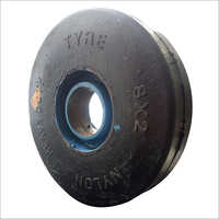 8X2 Heavy Duty Nylon Trolley Wheel