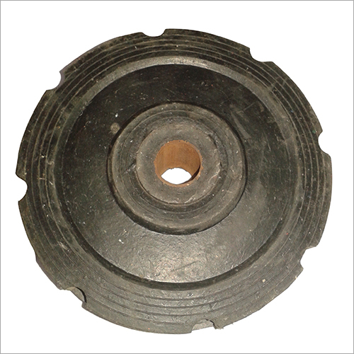 8X2 Rubber Trolley Wheel