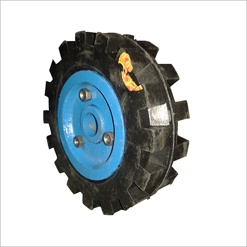 8X2 Pump Set Trolley Wheel
