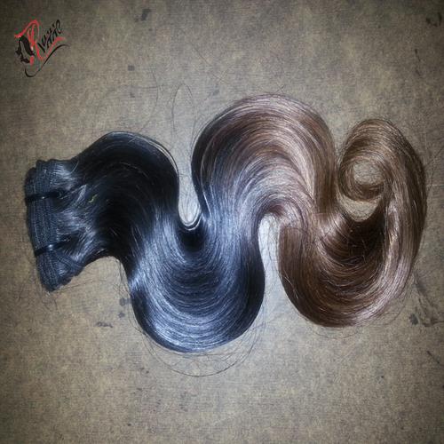 Peruvian Human Hair Ombre Weaves Bundles