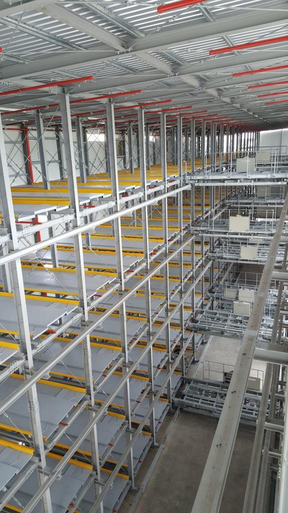 Multi Floor Cart Type Parking System