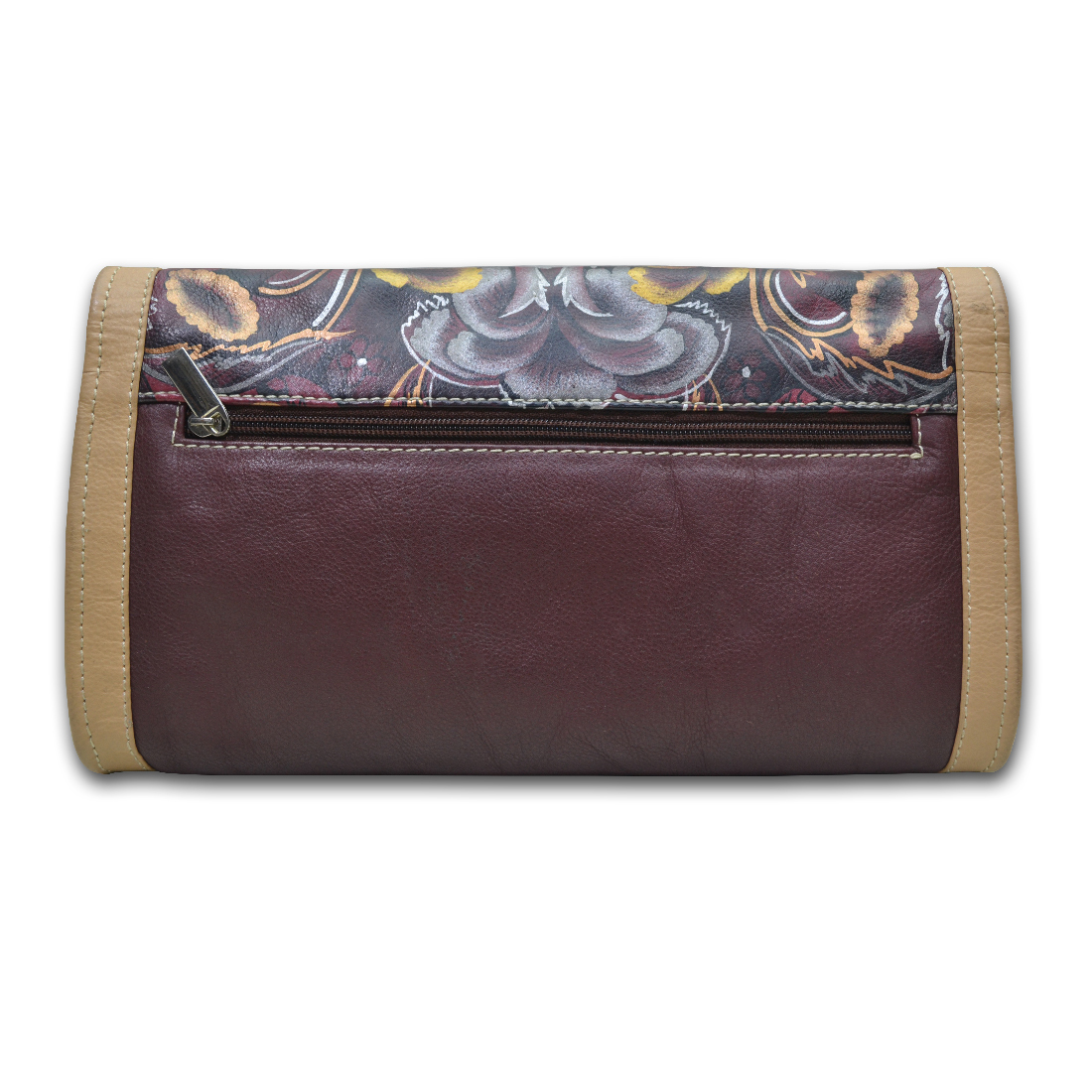 Leather Women Clutch
