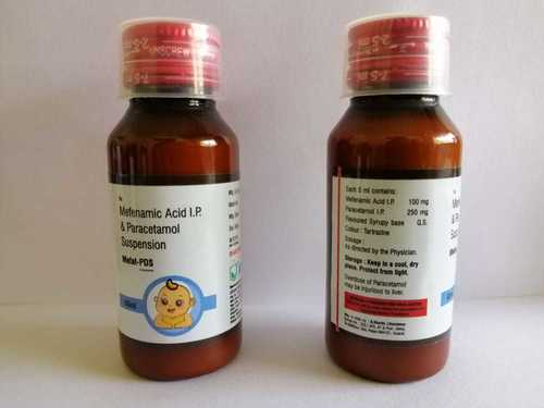 Mefenamic Acid I.P. 100 MG & Paracetamol I.P. 250 MG Suspension