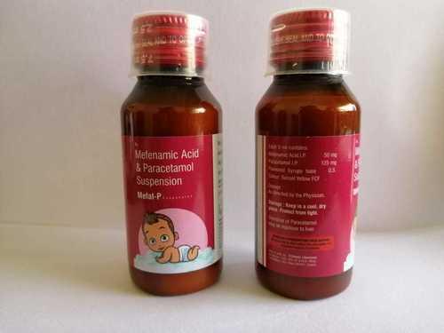 Mefenamic Acid I.P. 50 MG & Paracetamol I.P. 125 MG Suspension