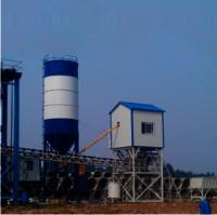 Cement pipe concrete mixing plant