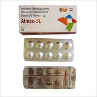 Sublingual Methylcobalamin,Folic Acid,Pyridoxine HCL And Vitamin D3 Tablets
