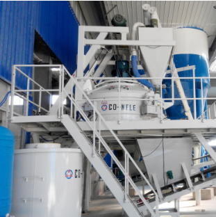 Planetary Concrete batching plant for concrete block bricks