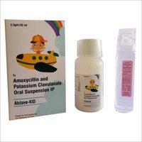 Amoxicillin 200 MG And Potassium Clavulanate 28.5 MG Oral Suspension I.P.