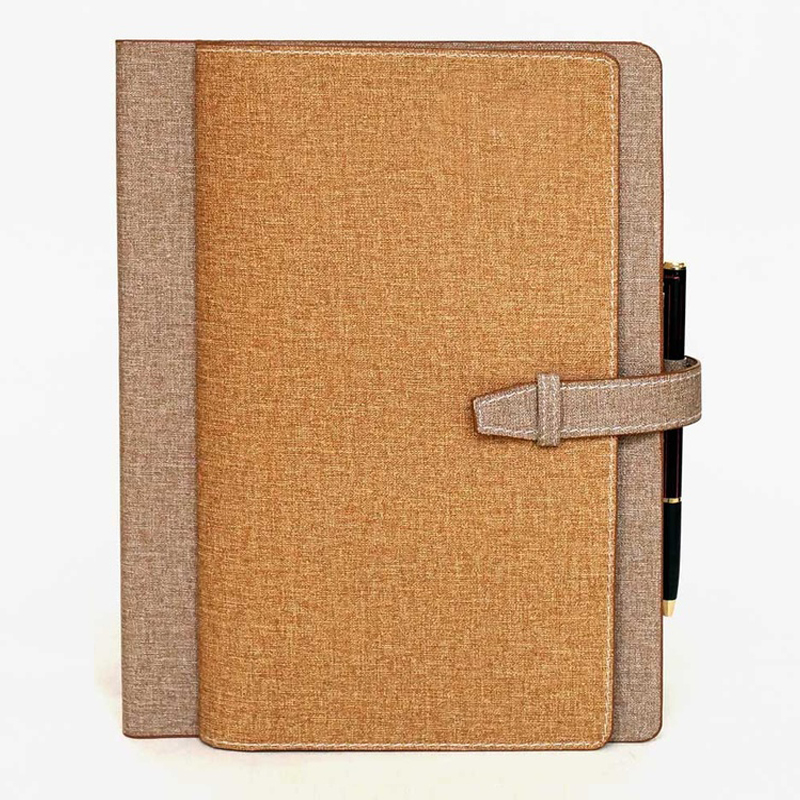 Fabric Looks Leatherette Notebook (X2002)