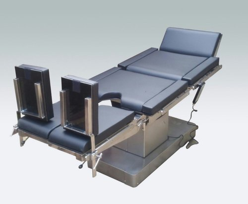 Motorized spinal frame electrically operated