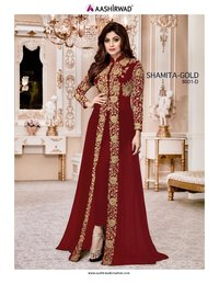 Georgette salwar suits