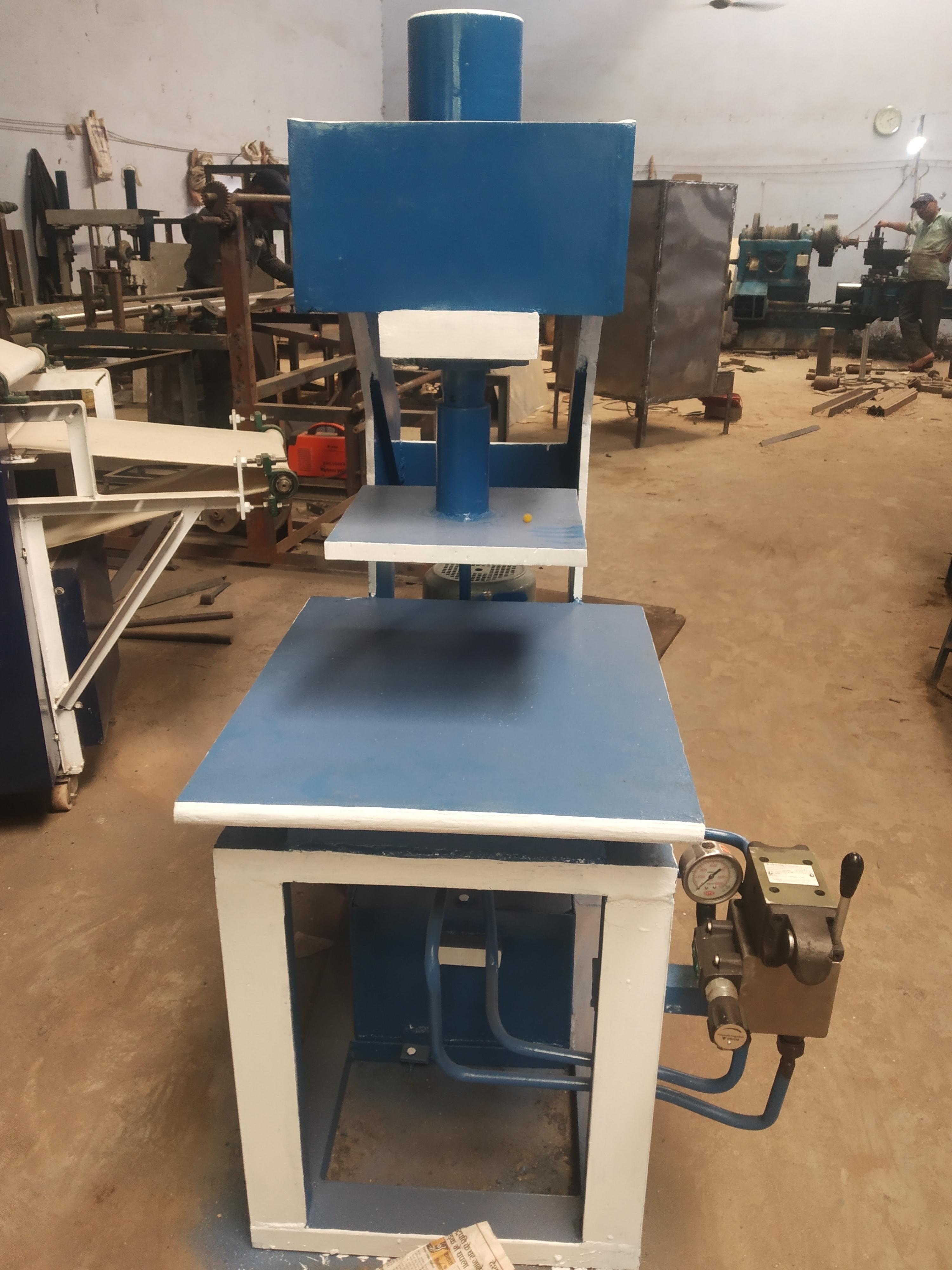 Hydraulic Sleeper Making Machine
