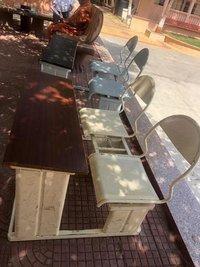 Individual school bench