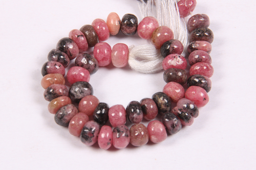 Rhodochrosite Beads