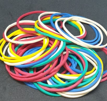 Various Colors Rubber Band