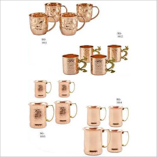 Copper Cup Set