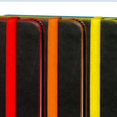 Hard Cover Premium Leatherette Notebook With Colourful Elastic Option (X2006)
