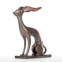 Aluminum Animal Statue Table Art Sculpture