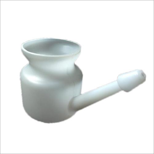 Plastic White Jal Neti Lota