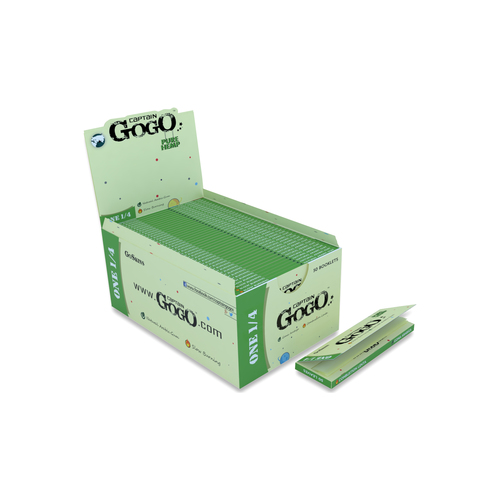 One 1/ 4 Pure Hemp Rolling Paper