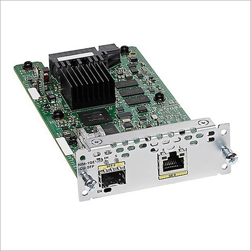 Cisco 2-Port Gigabit Ethernet WAN Network Interface Module
