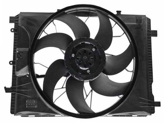2215000493 - S Class Radiator Fan