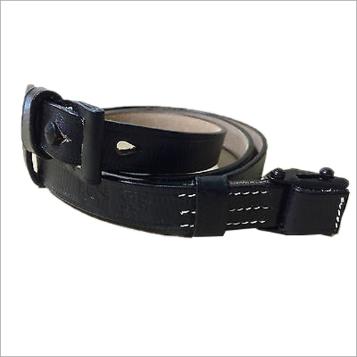 Black Leather Rifle Sling