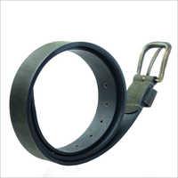 Robust Alaska Olive Leather Belt