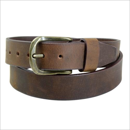 Robust Muddy Oak Leather Belt