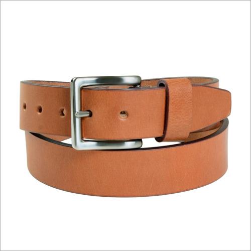 Coated London Tan Leather Belt