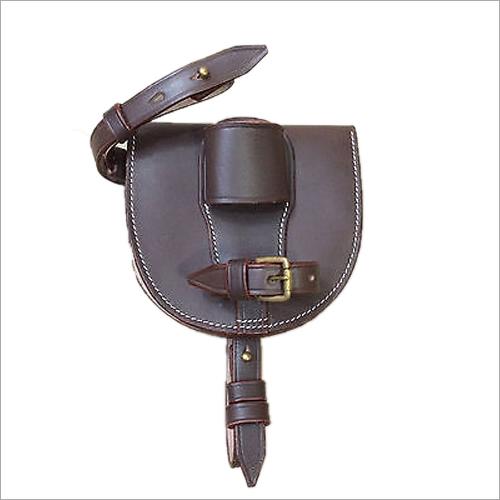 WWI Leather Horseshoe Case