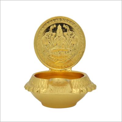 Gajalakshmi Brass Diya