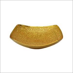 4 Inch Pyala Brass Pooja Plate